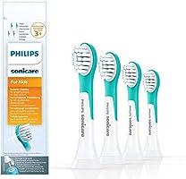 Philips Sonicare Opzetborstels For Kids Compact - 4 Stuks - Compact formaat - Opklikbaar - Kindvriendelijke reiniging -...