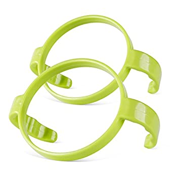Compatible Bottle Handle for Comotomo  Pack of 2 Green