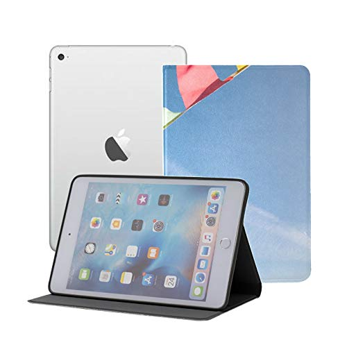 All-New Soft TPU Back Cover Case for iPad Pro 11 2020/2018 with Pencil Holder - Full Body Protection and Auto Wake/Sleep,Flags Against Blue Sky