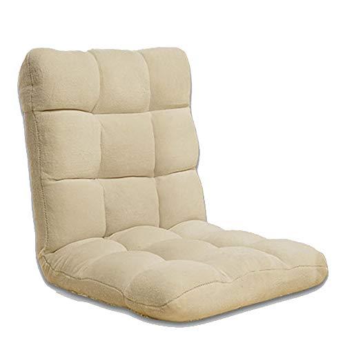 Schlafzimmer Faule Sofa Tatami Stuhl Rücken Taille Unterstützung Sitzkissen Meditationsstuhl Hohe Zurück Home Kleine Wohnung Wohnzimmer (Color : Blue, Size : 55 * 115 * 11cm)
