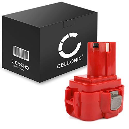 CELLONIC® Batería Premium (9.6V, 3Ah, NiMH) Compatible con Makita 6203D / 6204D / 6207D / 6222D / 6226D / 6260D / 6261D / 6503D / 6702D - 9100, 9120 bateria de Repuesto, Pila reemplazo Herramienta