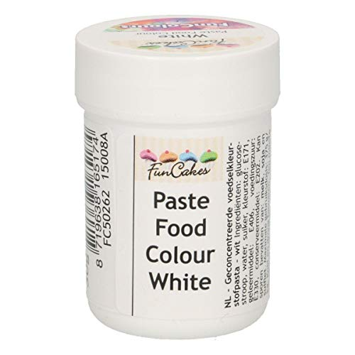 FunColours barwnik spożywczy pasta / żel - white snow 30 g