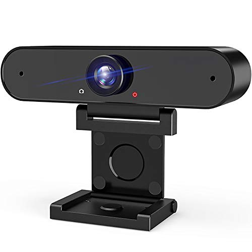 HD 1080P USB Web Camera: Webcam with Microphone & HD Computer Privacy Cover Cam for Desktop Laptop Streaming   Video Conference Compatible – Zoom   Skype   Facetime   YouTube