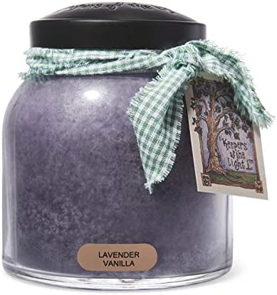 A Cheerful Giver Lavender Vanilla Papa Jar Candle 34 Ounce product image