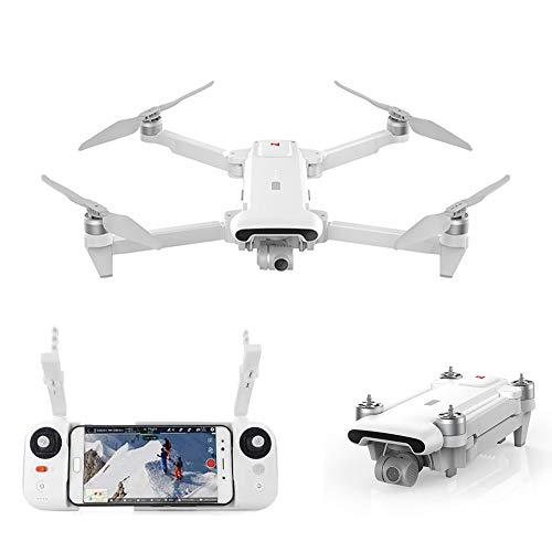 FIMI XiaoMi X8SE Foldable Portable Desgin Quadcopter Drone 4K Camera UHD 100Mbp HDR Video 8km Range 35 mins Flight Time UAV GPS Real-time Tracking Smart Remote Controller FlyCam Quadcopter White