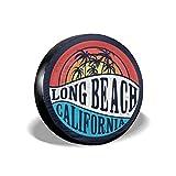 Drew Tours Copertina Pneumatico California Illustrazione vettoriale, per la Stampa di t-Shirt e Altri Usi. Copertura del Pneumatico Adatta per, rimorchio, Camper, SUV e Molti Veicoli da 15 Pollici
