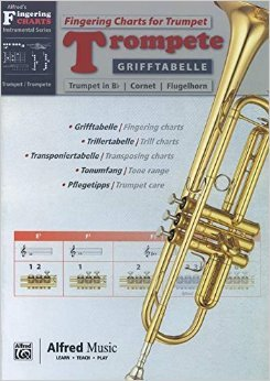 Grifftabelle Trompete | Fingering Charts Trumpet | Trompete | Buch (Englisch) ( 6. März 2014 )