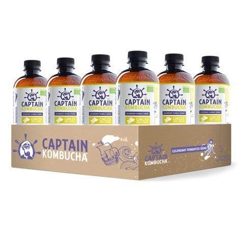 Captain Kombucha Ginger Lemon, 400 ml