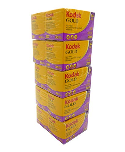 Kodak カラーネガフィルム Gold 200 36枚撮り(10本パック)