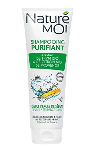 bon comparatif Naturé Moi – Shampooing nettoyant à l'extrait de thym et citron bio – Nettoyant… un avis de 2021