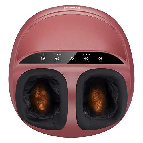 RENPHO Foot Massager Machine with Heat, Shiatsu Deep Kneading, Squeeze, Relieve Foot Discomforts...