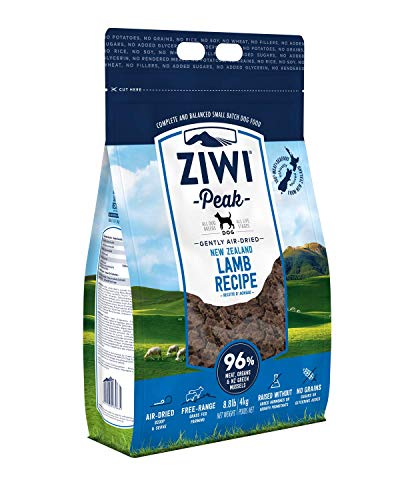 ZIWI Peak | Air Dried Dog Food Lamb | 4 kg