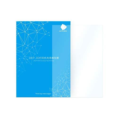 ANYCUBIC FEP Film for Photon/Photon S LCD DLP SLA Resin 3D Printer Teflon Film Replacement Sheet 200 x 140 x 0.15mm (1 PC)