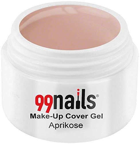99nails Make-Up Cover Gel - Aprikose, 1er Pack (1 x 15 ml)