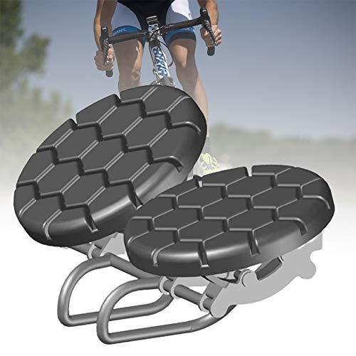 ZPCSAWA Sillín Bicicleta Cómodo, Absorción de Choque Cojín Sillines Bici Antiprostatico Sin Presión y Suave Cómodo para Hombre y Mujer