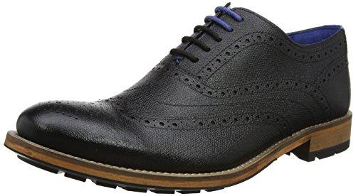 Ted Baker Guri 9, Zapatos de Cordones Oxford Hombre, Negro (Black), 46 EU
