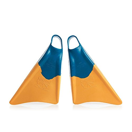Churchill Makapuu Fins (Blue/Yellow - Medium/Large). All Sizes Available. Churchill Makapuu Fins (Blue/Yellow). Perfect for bodyboarding (dropknee and prone styles), shore swimming, catching waves, swimming the surf, travel fins, bodysurfing, casual swimm