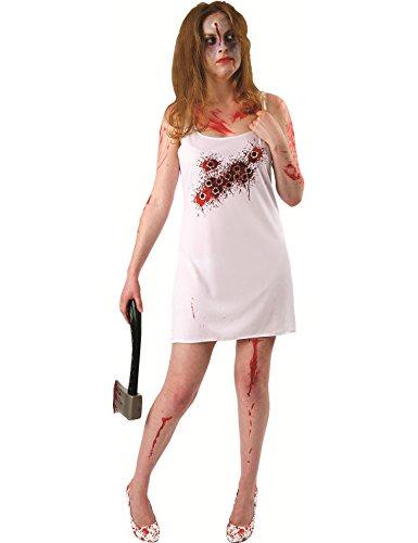 ORION COSTUMES Costume de déguisement effrayant d'Halloween avec un trou de balle pour femmes