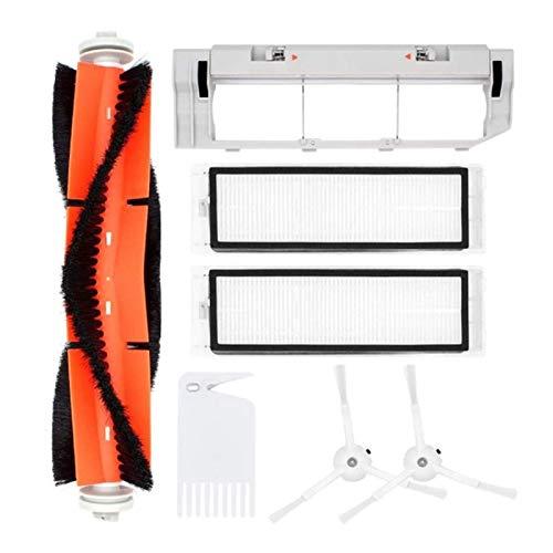 NICERE Recambios de aspirador adecuado para Xiaomi Roborock S55 S50 S51 Robot Partes de aspirador Kit de accesorios