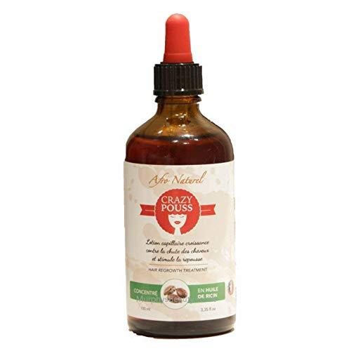 Afro naturel Lotion capillaire Croissance et repousse des cheveux 100 ml X 1