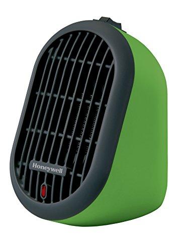 Honeywell HCE100G Heat Bud Ceramic Heater, Green, 2