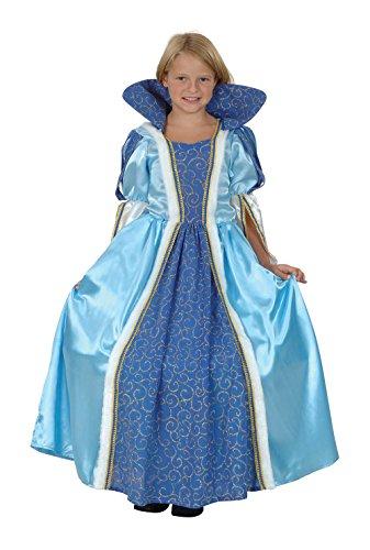 Blue Princess - Enfants Costume de déguisement - Petit - 110cm à 122cm