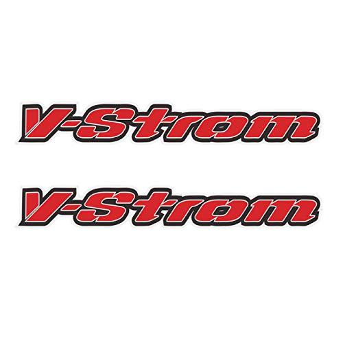 Qwjdsb para Suzuki Strom DL 1000650250 Sport,Adventure Tourer, Pegatina de Motocicleta,Maletas Laterales traseras, Maletas, Caja de Aluminio, Caja V