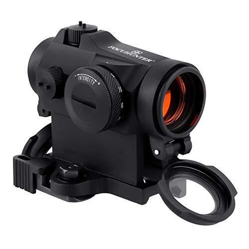 FOCUHUNTER Tactique Reflex Rouge Dot 11 Luminosité Airsoft 2 MOA Sight Scope 20mm Montage sur Rail pour la Chasse et Le Tir