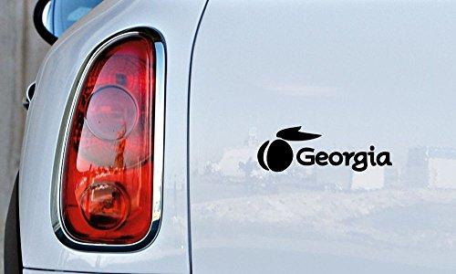 georgia peach decal - 7