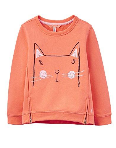 Tom Joule Sweatshirt Katze orange Größe 3-4 Jahre