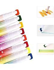 Aoitori 水彩ペン カラーペン 水彩毛筆 水性ペン 36色 画筆 水洗可能 双ペン先 収納ケース付き 子供向け 学生向け プレゼント ギフト 子供の日 入学式 新学期 入園式