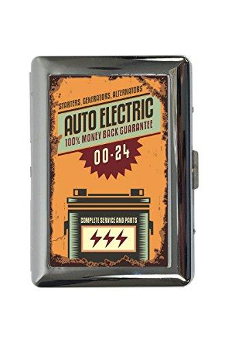 pitillera cigarrera Garage Diseño auto eléctrico impreso