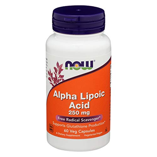 Now 250Mg Acido Alfa Lipoico 60 Veg Capsule - 60 g
