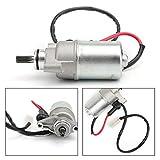 Artudatech Motor de arranque eléctrico de motocicleta, motor de arranque eléctrico de motocicleta, 9 spline para YAMAHA TT-R 50 TTR50E 05-17 TT-R 90 TTR90 2004-2007