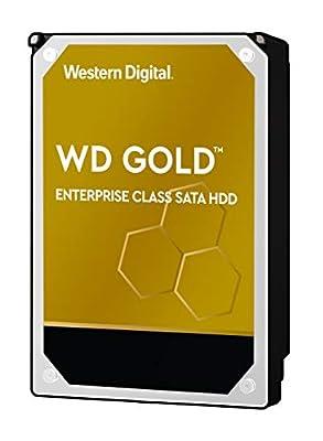 "WD Gold Enterprise Class Internal Hard Drive - 7200 RPM Class, SATA 6 Gb/s, 512 MB Cache, 3.5"" - WD181KRYZ"