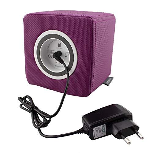 caseroxx Toniebox Ladegerät für Toniebox Lautsprecher, hochwertiges Ladegerät mit Netzteil zum Aufladen (Flexibles, stabiles Kabel in schwarz)