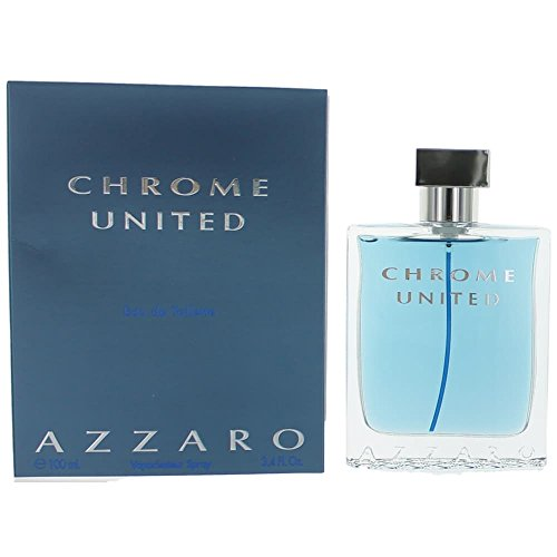 Loris Azzaro Chrome United Spray para Hombre, 3.4 Oz/100 ml