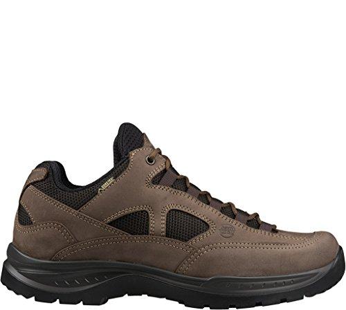 Hanwag W Gritstone Wide Lady GTX Braun, Damen Gore-Tex Hiking- und Approach-Schuh, Größe EU 40.5 - Farbe Light Brown