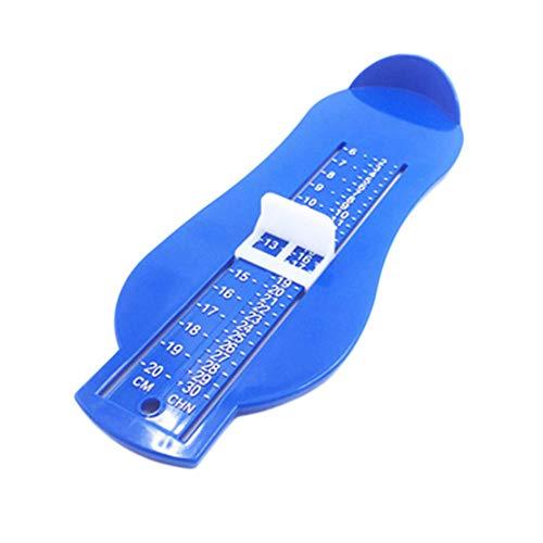 Medida de los pies zapatos de la herramienta zapatos de ayudante calculadora del tamaño de los niños pies infantiles herramienta de regla de medición de los zapatos del bebé calibrador dispositivo
