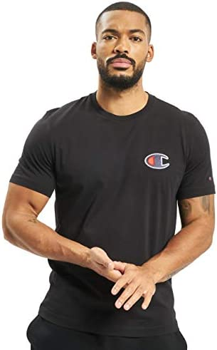 Camiseta Champion para Hombre Color Gris y Negro - 213523-kk001