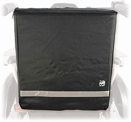 Stock-Fachmann Rollstuhltasche Universal schwarz zum Anhängen Rollstuhl Tasche Transporttasche