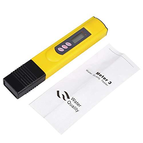 Digitale waterkwaliteitstester, zuiverheidsfilter, draagbaar, hoge precisie, TDS-tester, 0-9990 PPM, temperatuurmeter