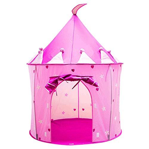 oshhni Children Kids Baby Up Play Tent for Girls Boys Indoor Playhouse - Pink, 100x135mm