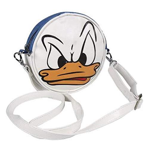 Disney-geschenke Für Mädchen | Runde Tasche Mit Klassischen Figuren Wie Mickey, Dem Kätzchen Marie Der Aristocats, Der Donald Duck Und Den 101 Dalmatinern (Donald Duck)