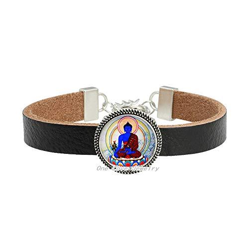 Brazalete de Buda, pulsera de Buda, joyería de Buda. Brazalete budista. Regalo de cumpleaños. Regalo de cumpleaños, TAP209