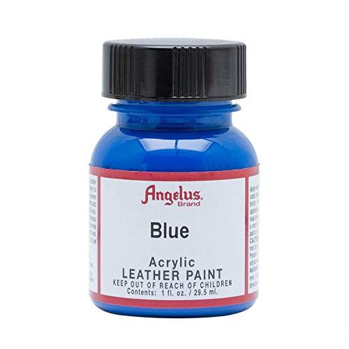 Angelus Acryl Lederfarbe Blau 29,5ml