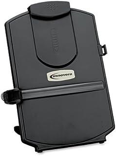 Innovera Desktop Copyholder, Monitor Mount, Black