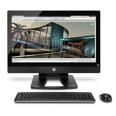 HP Z1 27' - Ordenador de sobremesa All in One (68,58 cm (27'), 3,3 GHz, Intel Xeon Quad-Core, E3-1245, 4 GB, DDR3) Negro