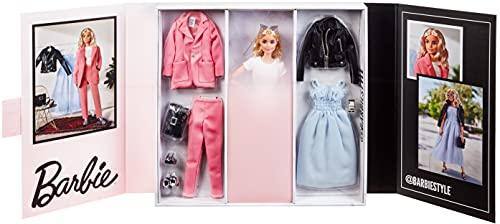 Barbie GTJ82 - @BarbieStyle Puppe (blond) mit Zubehör, für Sammler