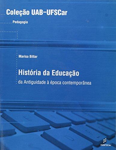 História da Educação: da Antiguidade à época Contemporânea